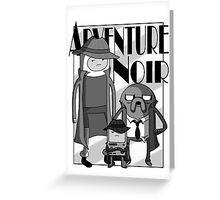 Adventure Noir Greeting Card