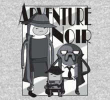 Adventure Noir One Piece - Long Sleeve