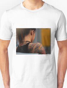 Body Tattoo Unisex T-Shirt