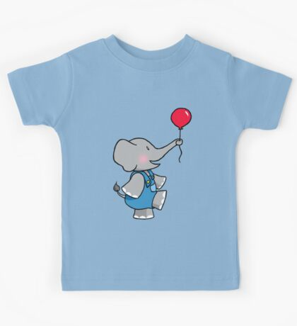 The Elephant and his Balloon Kids Tee