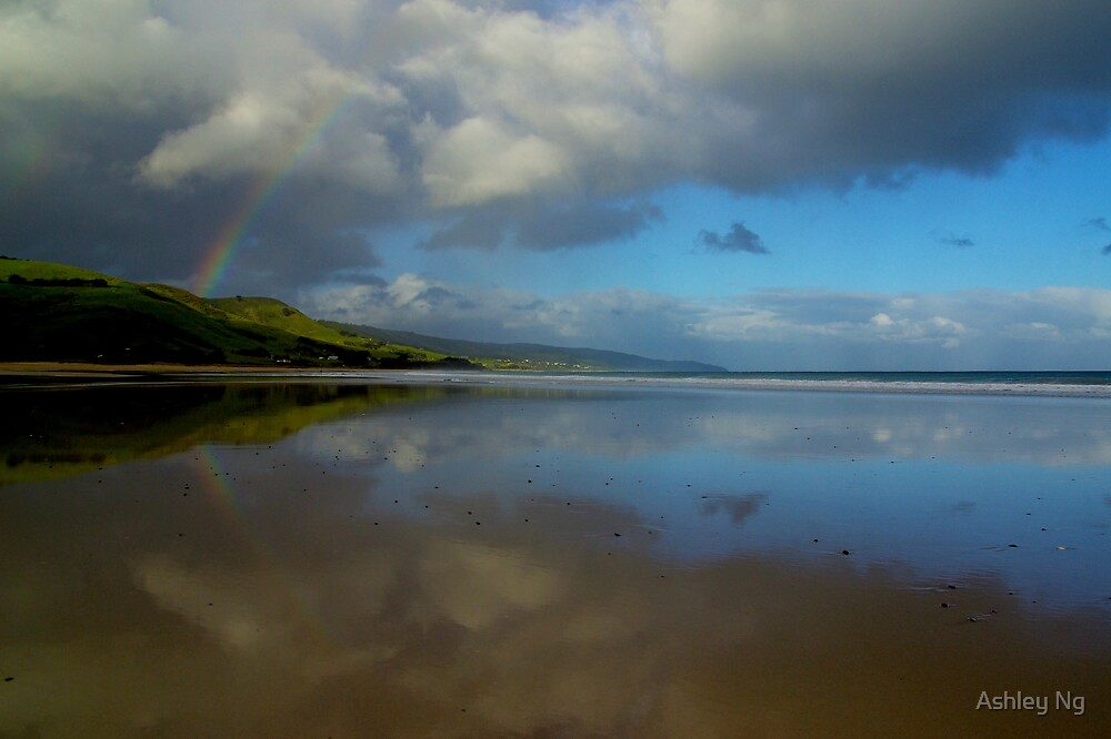 Apollo Bay Rainbow Reflections I by Ashley Ng