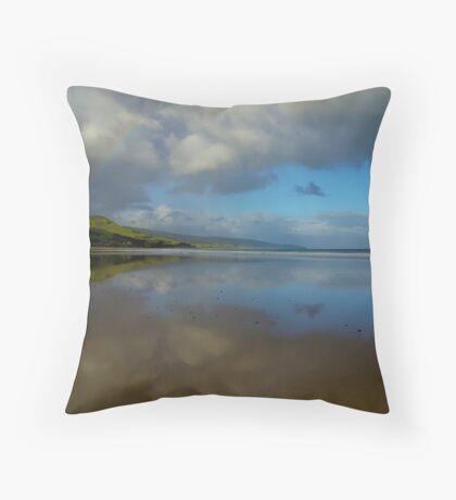 Apollo Bay Rainbow Reflections I Throw Pillow