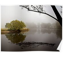 Tranquil Reflections - Bedlam Creek, NSW Poster