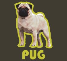 PURE PUG T-SHIRT! by watertigerleo
