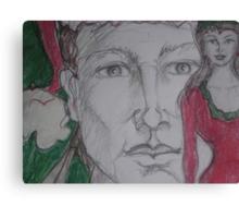 I'd like you for Christmas Detail Canvas Print