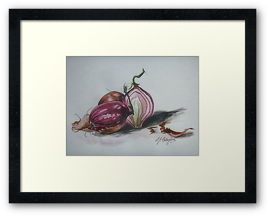Red Onions  by © Linda Callaghan