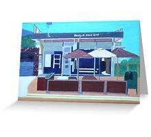 Bendigo Street Milk Bar Greeting Card