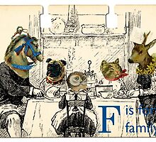 F is for Family by Margaret Orr