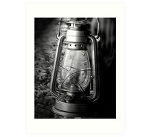 The lantern Art Print