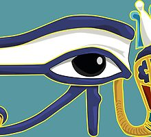 The Eye of Ra: Wedjet Upper Egypt by Aakheperure