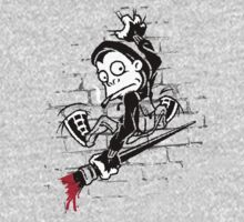 Banksy Clinger - Wall Art by Duzty