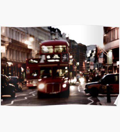 Routemaster London Bus Poster