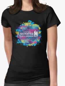 Lonely Monster Womens Fitted T-Shirt