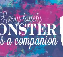 Lonely Monster Sticker
