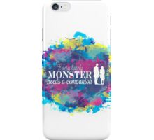 Lonely Monster iPhone Case/Skin