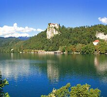 LAKE BLED, SLOVENIA by Eamon Fitzpatrick