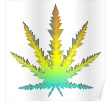 cannabis triangles Poster
