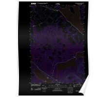 Maine USGS Historical Map Saint Agatha 20110831 TM Inversion Poster