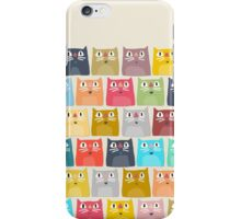 summer cats iPhone Case/Skin
