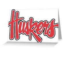 Nebraska Cornhuskers Greeting Card