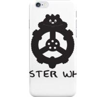 Hamster wheel iPhone Case/Skin