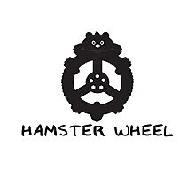 Hamster wheel Photographic Print