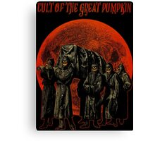 Cult of the Great Pumpkin: Pallbearers Canvas Print