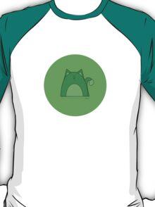 Rawr: Green Cat T-Shirt