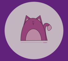 Rawr: Purple Cat by Louise Parton