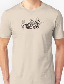 Cardistry Calligraphy. T-Shirt