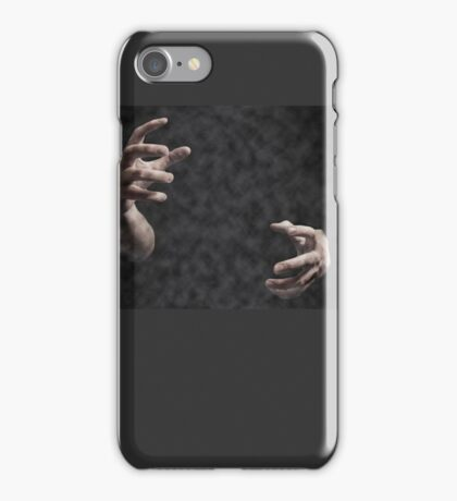 Hands last from fog iPhone Case/Skin
