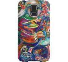 Orphan Child with Flowers Samsung Galaxy Case/Skin
