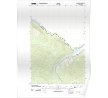 Maine USGS Historical Map Saint Francis 20110831 TM Poster
