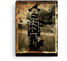 Cult of the Great Pumpkin: Tall Costume Canvas Print