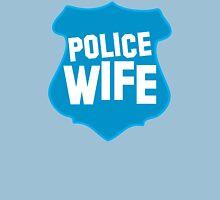 Police WIFE on a policeman shield badge  T-Shirt