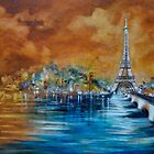 Impressions of Paris by Cathy Gilday