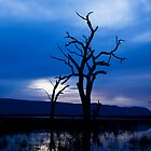Blue Lake by gigglemonster