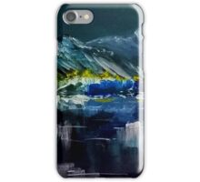 Canadian Rockies Acrylic painting iPhone Case/Skin
