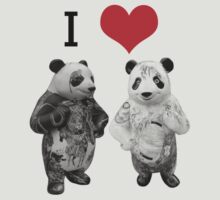 I Love Pandas by Sharon Stevens