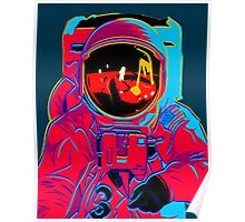 psychedelic astronaught  Poster