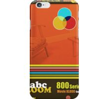 Homage to home movies iPhone Case/Skin