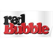 RedBubble Logo Poster