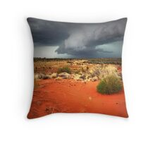 Chasing the storm... Throw Pillow