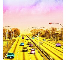 All american freeway Photographic Print