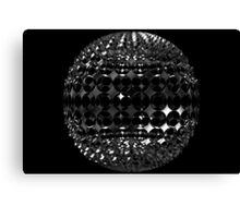 Sphere with holes Canvas Print