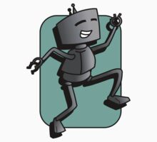dancing robot by jfpictures