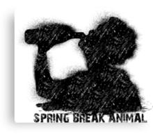 Spring break party animal Canvas Print