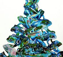 PYRAMID of FROGS and TOADS by lautir