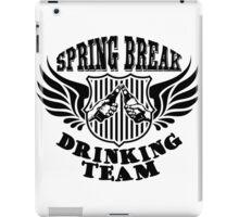 spring break drinking team iPad Case/Skin