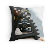 Lockwheels Throw Pillow